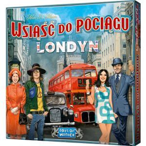 Wsiąść do Pociągu: Londyn. Gra Planszowa