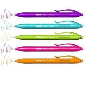 Długopis P1 touch colours. Mix kolorów. Milan