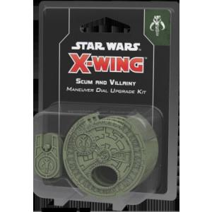 Star Wars X-Wing - Scum and Villainy Maneuver Dial Upgrade Kit (Druga Edycja)