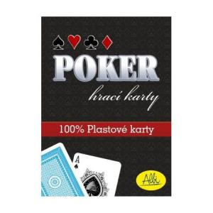 Karty Poker - plastikowe