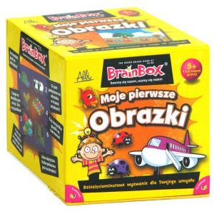BrainBox. Moje Pierwsze Obrazki. Gra Planszowa