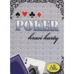 Karty do Pokera niebieskie
