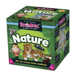 BrainBox. Nature. Gra Planszowa. Wersja Angielska