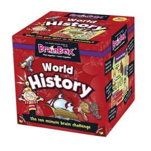 BrainBox World History. Gra Planszowa. Wersja Angielski