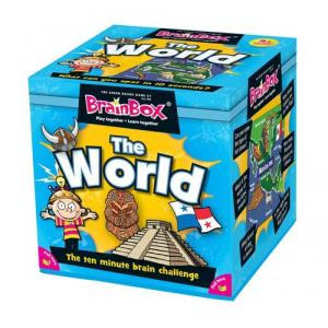 BrainBox. The World. Gra Planszowa. Wersja Angielska