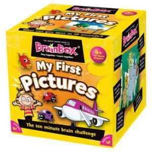BrainBox. My First Pictures. Gra Planszowa. Wersja Angielska