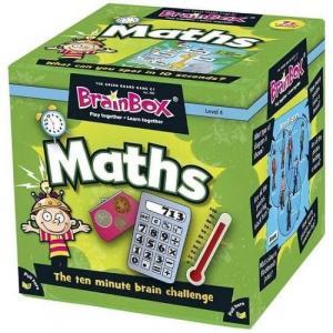 Brainbox Maths. Gra Planszowa. Wersja Angielska