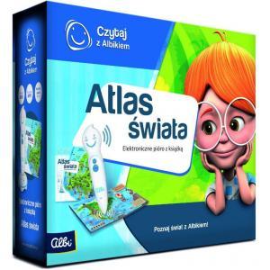Czytaj z Albikiem. Zestaw Atlas Świata