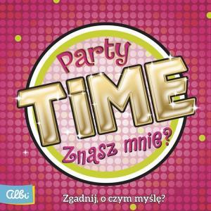 Party Time. Znasz Mnie? Gra Karciana