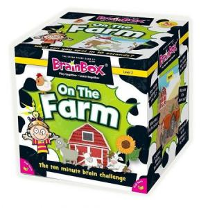 BrainBox. On The Farm. Gra Planszowa. Wersja Angielska