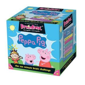 BrainBox Peppa. Gra Planszowa. Wersja Angielska