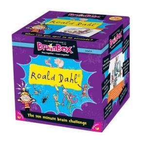 BrainBox. Roald Dahl. Gra Planszowa. Wersja Angielska