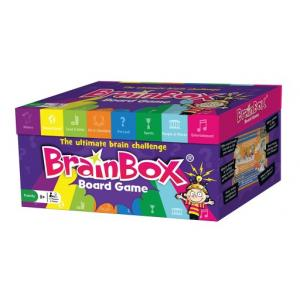 BrainBox Board Game. Gra Planszowa. Wersja Angielska