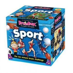 BrainBox. Sport. Gra Planszowa. Wersja Angielska