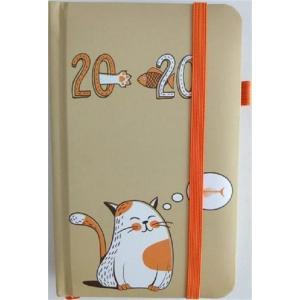 Kalendarz 2020 tygodniowy kieszonkowy Kot