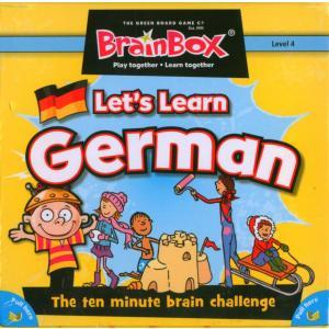 BrainBox Let's Learn German. Gra Planszowa. Wersja Niemiecko-Angielska