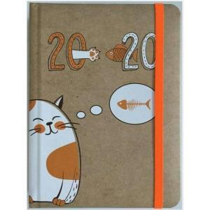 Kalendarz 2020 dzienny B6 Kot
