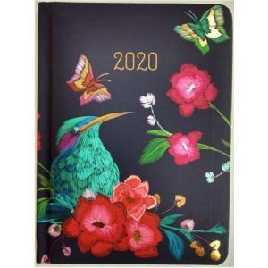 Kalendarz 2020 tygodniowy B6 Zimorodek
