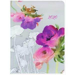 Kalendarz 2020 tygodniowy B6 Akwarela kwiaty