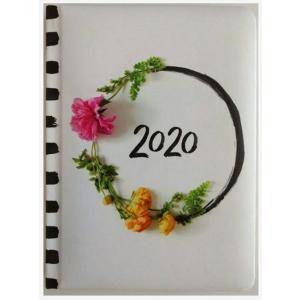 Kalendarz 2020 tygodniowy B6 Zdjęcia kwiatów