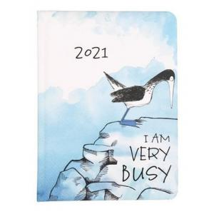Kalendarz tygodniowy B6 2021 Ptak ALBI
