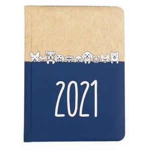 Kalendarz tygodniowy B6 2021 Kraft pieski ALBI