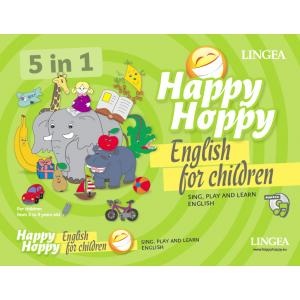 Happy Hoppy English for Children. 5 in 1 (sing, play and learn) wyd.1