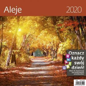 Kalendarz wieloplanszowy Aleje 30x30 2020