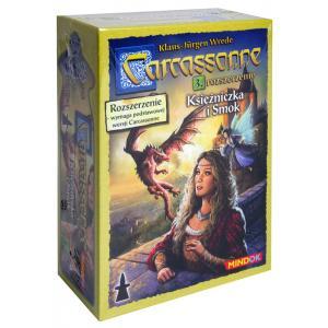 Carcassonne: Księżniczka i Smok. Edycja Polska. Dodatek do Gry Planszowej