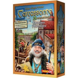 Carcassonne: Opactwo i Burmistrz. Edycja Polska. Dodatek do Gry Planszowej