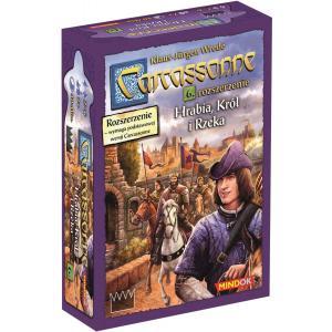 Carcassonne: Hrabia, Król i Rzeka. Edycja Polska. Dodatek do Gry Planszowej