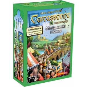 Carcassonne: Mosty, Zamki i Bazary. Edycja Polska. Dodatek do Gry Planszowej