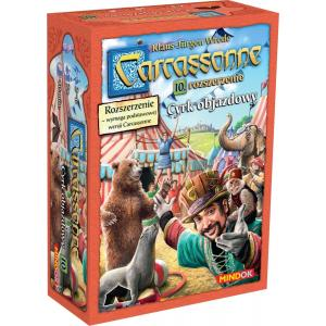 Carcassonne: Cyrk Objazdowy. Edycja Polska. Dodatek do Gry Planszowej