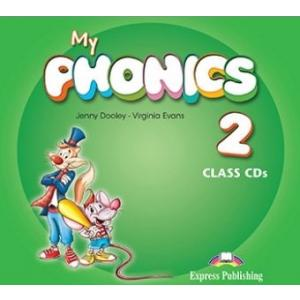 My Phonics 2. Short Vowels. CD