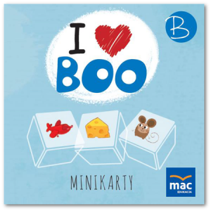 I Love Boo. Poziom B. Język Angielski. Minikarty