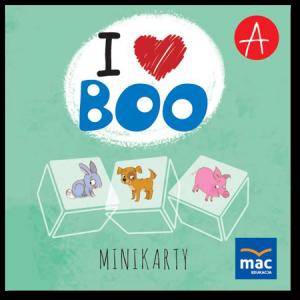 I Love Boo. Poziom A. Język Angielski. Minikarty