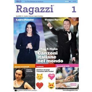 Czasopismo ELI Włoski Ragazzi 1 (2018/2019) B1/B2