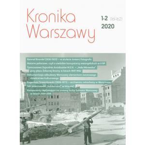 Kronika Warszawy 1-2/2020 /varsaviana/