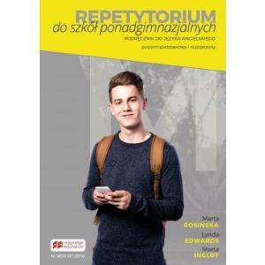 Repetytorium do szkół ponadgimnazjalnych. Język angielski. Poziom podst. i rozsz. + książka cyfrowa