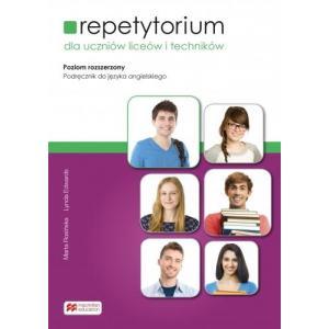 Repetytorium dla uczniów liceów i techników. Język angielski. Poziom rozszerzony + pdf