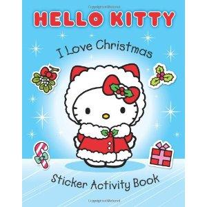 Hello Kitty. I Love Christmas Sticker Activity Book
