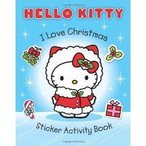 Hello Kitty. I Love Christmas Sticker Activity Book
