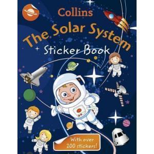 Solar System Sticker Book. PB