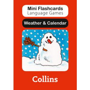 Weather and Calendar. Mini Flashcards Language Games