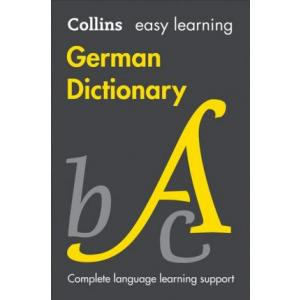 Collins Easy Learning German Dictionary 8th ed