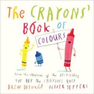 Crayons' Book of Colours (board book)