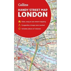 London Handy Street Map /podręczna mapa Londynu/