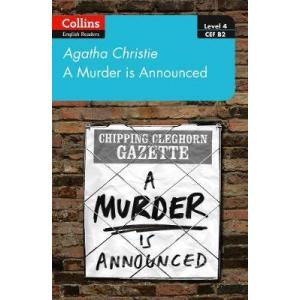 A murder is announced. Level 4. Upper-intermediate. B2. Collins Agatha Christie ELT Readers