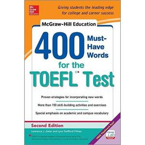 McGraw-Hill Education. 400 Must-Have Words for the TOEFL. 2nd Edition
