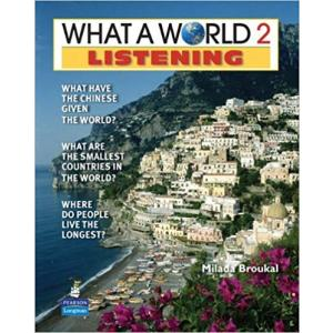 What a World 2ed Listening 2 Bk